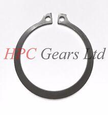 10 x Steel 12mm External Circlips DIN471 Circlip Pack HPC Gears
