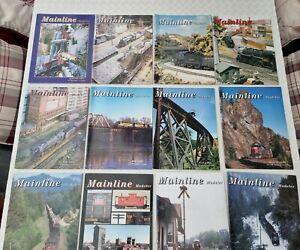 Mainline Modeler 1997 Full Year Railroad Magazine Back Issues