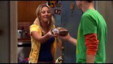 Kaley Cuoco Screen Worn Yellow Terrycloth Hoodie, The Big Bang Theory