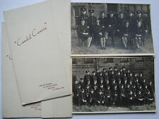 More details for 2 vintage group photo fire brigade firemen women nfs yorkshire social history