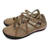 Jambu Womens Tangerine Taupe Mary Jane Memory Foam Shoes Size 9.5 M Style 63217