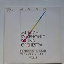 MSSO  sensation of sound Pop goes classic Vol 3 ABBA S. WONDER MICHAEL JACKSON