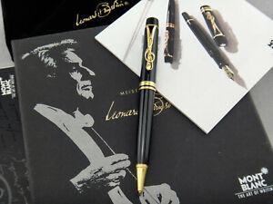 MONTBLANC Leonard Bernstein Donation Pens Ballpoint Pen (BP) Year 1996 Full Set