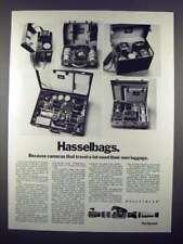 1972 Hasselblad Hasselbag 515, 511, 518, 565, 612 Ad!