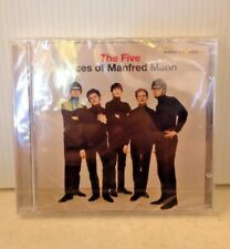 MANFRED MANN-THE FIVE FACES OF MANFRED MANN ('12 REISSUE CD SEALED STEREO/MONO)