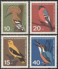 Germany 1963 Birds/Nature/Wildlife/Kingfisher/Hoopoe/Oriole/Bullfinch 4v n27955