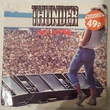 "She's So Fine Thunder UK 7"" vinyl single record EM158 EMI 1990 A1/B1 Ex.Cond"