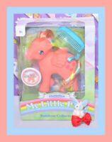 ❤️NEW My Little Pony Rainbow Collection FLUTTERBYE 35th Anniversary Retro❤️