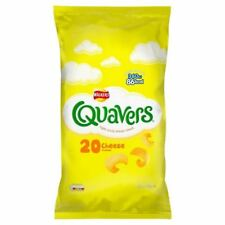 Walkers Quavers Cheese Snacks 20 x 16g (Pack of 2)