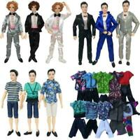 Doll Clothes Casual Suits Tops Pants Jeans Outfit For 11 inch Dolls Hot S2I W5A4