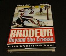 "Martin Brodeur Hand Signed ""Brodeur- Beyond The Crease"" Book"