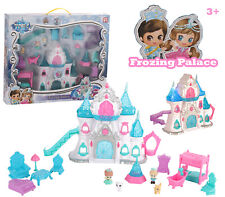 Frosty Wonderland Toy Villa - Frozing Palace - AAA Batteries Included - Girls 4+