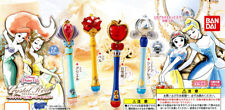 Bandai Disney Princess Crystal Rod Gashapon Wands Figure Set of 4