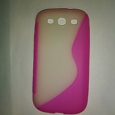 Ennotek Samsung S3 Galaxy Phone Cover Designer Case Accessories NIP Pink White