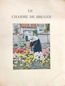 Le Charme de Bruges / Piazza 1928 /   Sur Japon impérial (14/31) HENRI CASSIERS
