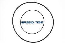 SET RIEMEN GRUNDIG TK547 TONBANDMASCHINE EXTRA STRONG FABRICKFRISCH NEU TK-547
