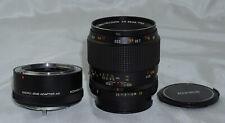 Konica Macro Hexanon AR 55mm f3.5 Lens w/ Macro Lens Adapter Extension