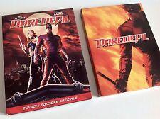 DARE DEVIL Ben Affleck Jennifer Garner Dischi Edizione Speciale 2 DVD