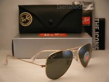 7052a21efb3 Ray Ban LARGE METAL (RB3025-001 58 55) Gold with Crystal Green