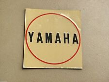 Yamaha AX125 AS3 CS5 LS2 HX90 Generator Crankcase Oil Pump Cover Sticker Emblem