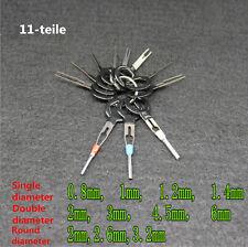 11Stk KFZ Kabel Stecker Ausbau Werkzeug Terminal Steckverbindung Demontage Set