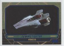 2012 Topps Star Wars Galactic Files Blue/350 #290 A-Wing Fighter Card 1j8