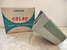 Vintage Photax Solar Colour 35mm Slide Viewer Boxed ( clean battery box )