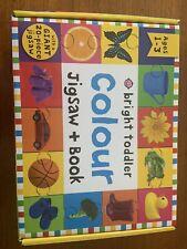 Bright Toddler Colour Jigsaw + Book