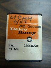 NOS 1964 Cadillac Neutral Safety Switch #1993650 w/ Hydromatic Transmission