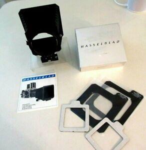 Hasselblad 40676 Adjustable Bellows Pro Lens Shade 050–070 original box & instru