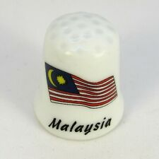 COLLECTABLE BONE CHINA THIMBLES ASIA