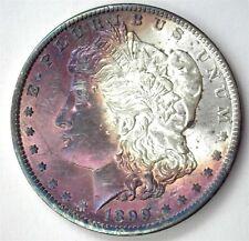 1899-O MORGAN SILVER DOLLAR NEAR GEM UNCIRCULATED IRIDESCENT TONING!!
