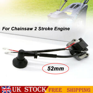 Ignition Coil Fit Chainsaw Strimmer Brush Cutter Lawnmower 2 Stroke 52mm Centres