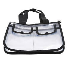 Multi-function Transparent Shoulder Bag Storage Swimming Cosmetic Beach Pouch S