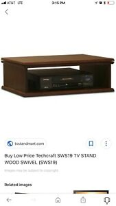 TECH CRAFT TV STAND SWS19 Swivel Stand