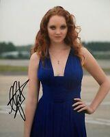 Lily Cole HAND SIGNED Autograph Image A 10x8 Photo COA AFTAL UACC Registered