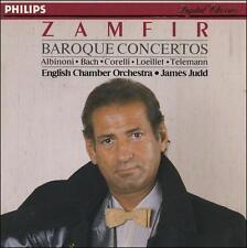 Zamfir - Baroque Concertos Telemann, Bach et. al. (CD, Mar-1988, Philips) VG+