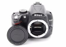 Nikon D5000 12.3MP 6.9cmSCREEN Digital SLR Camera Corpo - Conta Scatti 4970