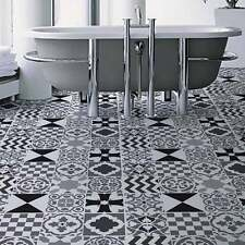 Patchwork Tiles Stencil Pattern - Size LARGE-  Stencils for DIY Home Decor