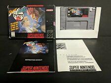 Street Fighter Alpha 2 (Super Nintendo Entertainment System, 1996) SNES Complete