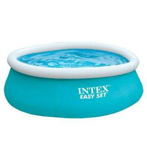 Intex 6ft x 20in Easy Set Inflatable Outdoor Kids Swimming Pool