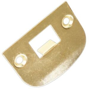 Universal STRIKER KEEP PLATE Brass Plated Door Mortice Catch Latch Receiver Stay