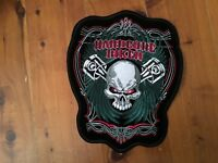 Biker eagle Harley Davidson freedom ride eagle sew on back patch live to ride