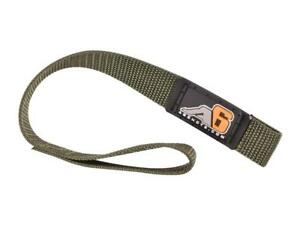 """Agency 6 Heavy Duty Hook / Winch Pull Strap - 1"""" Wide 7 colors to choose from!"""