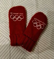 VANCOUVER OLYMPICS 2010 RED MITTENS S/M