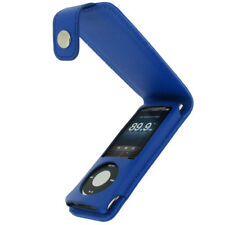 Blue PU Leather Case for Apple iPod Nano 5th Gen 5G 8gb 16gb Cover Holder