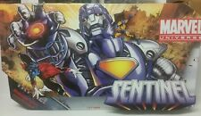 "Marvel Universe 16"" Sentinel & 3.75"" Wolverine MIB NRFB X-Men Purple Variant '10"