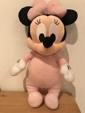 Doudou Peluche Minnie Bébé Noeud Rose Disney Babies Disney Parks