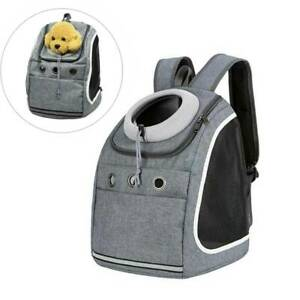Large Pet Carrier Mesh Backpack Puppy Dog Cat Animal Portable Outdoor Travel Bag