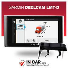 Nuevo Garmin dezlcam lmt-d Truck GPS sat Nav de vehículos pesados, de por vida mapa y actualizaciones de tráfico